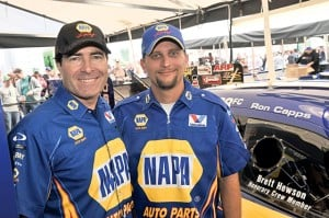 Hewson named 2nd NAPA Auto Parts honorary crew member