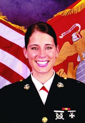 Christina Bobb Marine Officer (JAG) from Ahwatukee