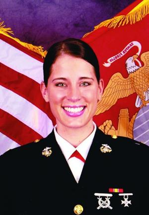 Christina Bobb Marine Officer (JAG) from Ahwatukee