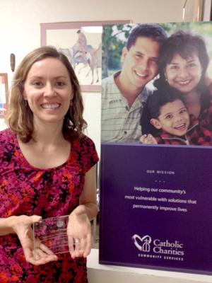 Catholic Charities DIGNITY Program receives award