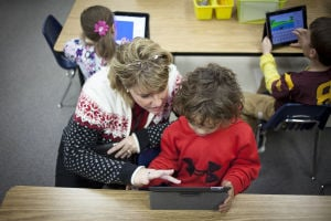 iPad Kindergarteners
