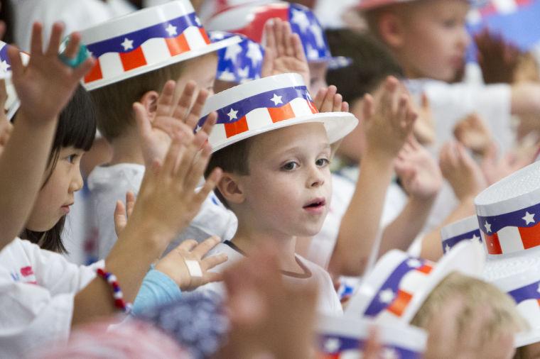Esperanza Kindergarten Patriotic Program