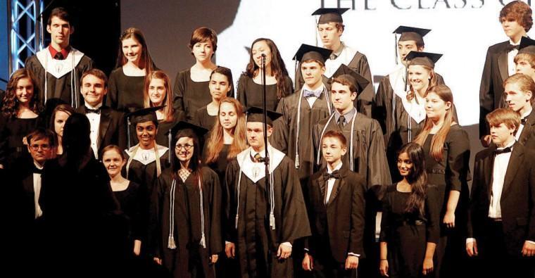 2012 Horizon Honors graduation