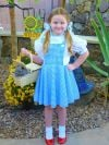 My 6 year old daughter, Natalie, dressed as Dorothy!
