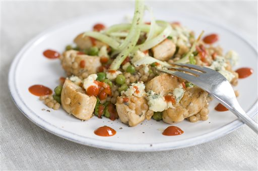 Food Healthy Buffalo Chicken