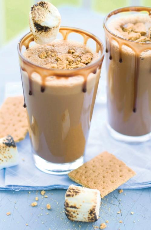 S'mores milkshakes