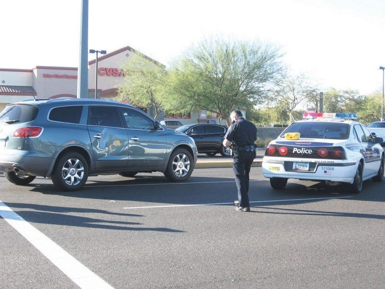Bicycle collision on Chandler Boulevard
