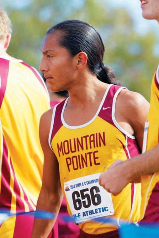 Mountain Pointe boys cross country