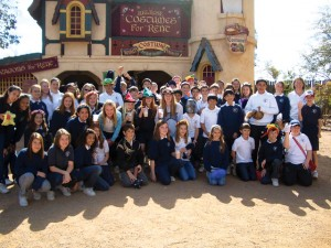 St. John Bosco students go back in time