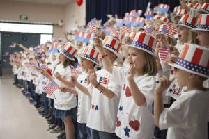 Esperanza Kindergarten Patriotic Program