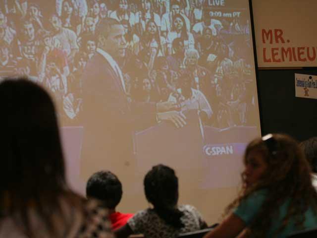 President Obama addresses school children nationwide