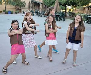 Local Brownies cross the 'bridge' to Girl Scouts