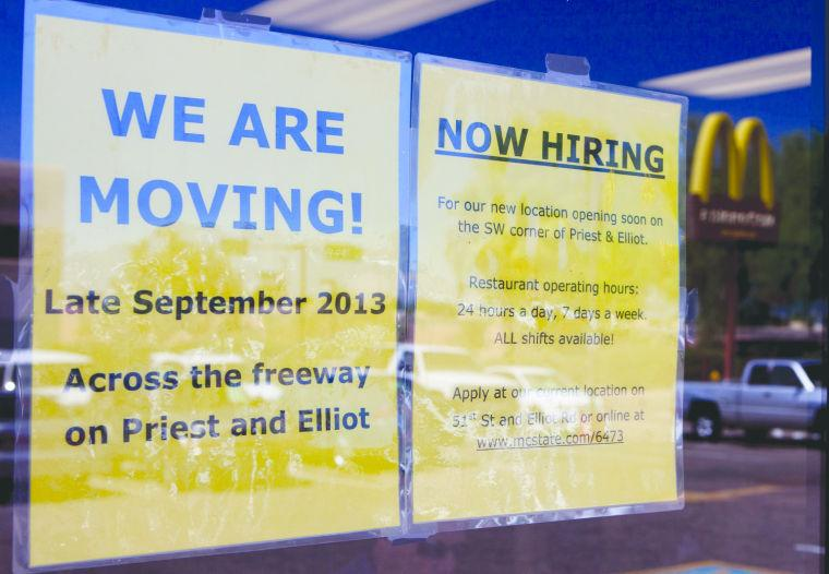 McDonald's is moving
