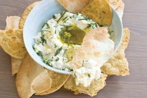 Buttermilk ricotta cheese dip