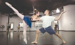 Nutcracker Rehearsal