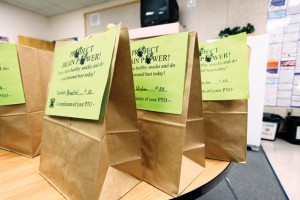 AIMS week means healthy snacks for Monte Vista students