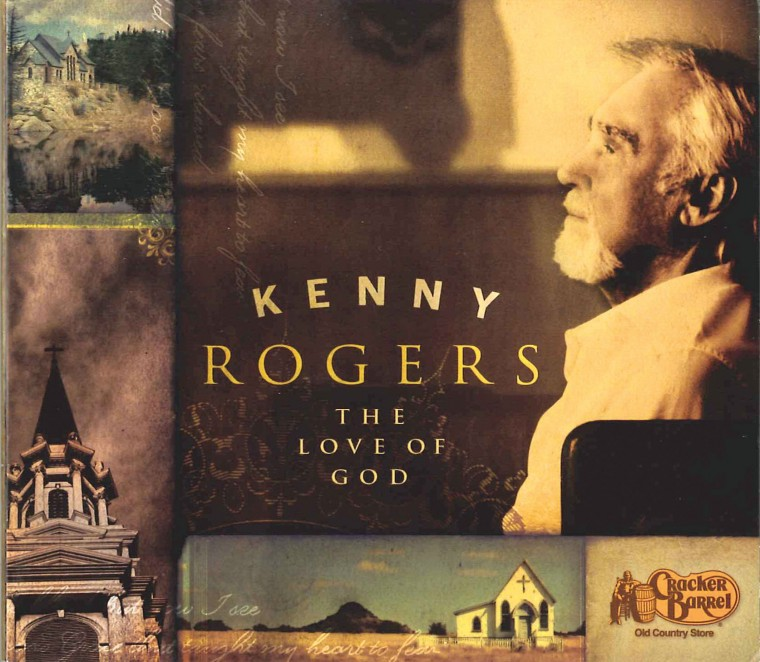 "Kenny Rogers' new CD ""The Love of God"""