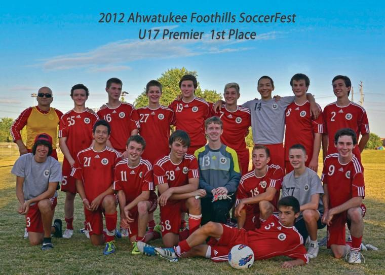 Ahwatukee Foothills soccer club 97 Boys White team