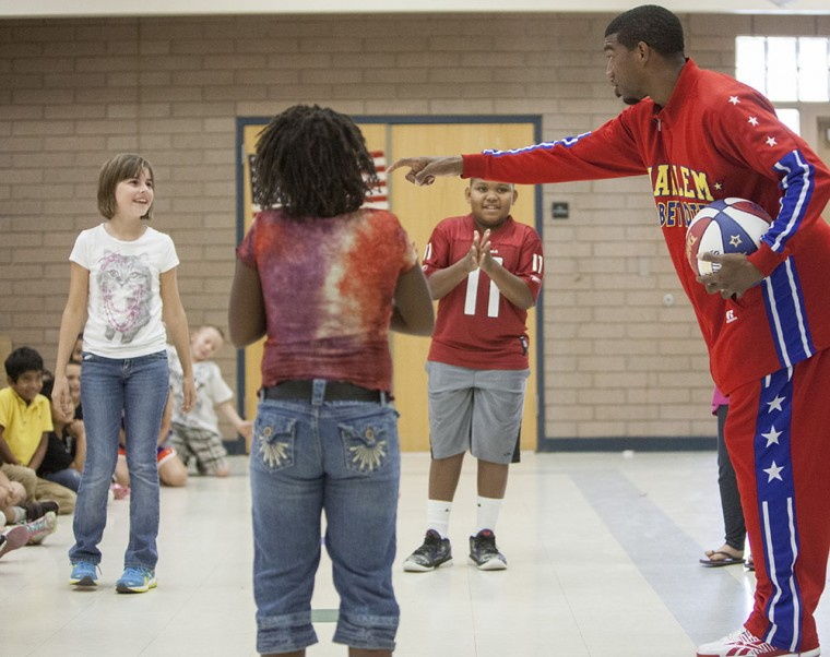 Anti-Bullying with Harlem Globetrotter