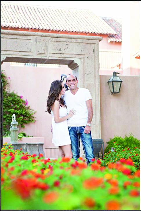 Brian Foster and Donna Esposito