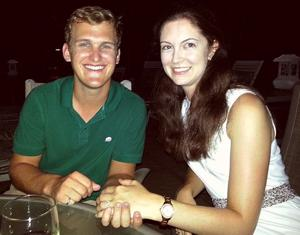 Kristina Gerboth and Nicholas Jacobsen