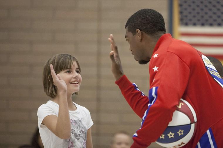 Anti-Bullying with Harlem Globetrotter
