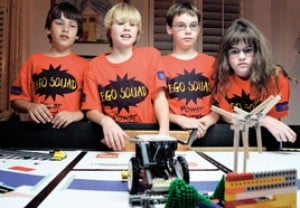 LEGO Squad: Private junior robotics team to compete in regional competition