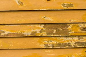 Home exteriors need to be repainted every four or five years, before you see peel or rot.