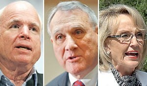 McCain, Kyl and Brewer