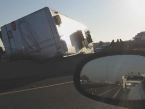Accidents cause rush-hour delays