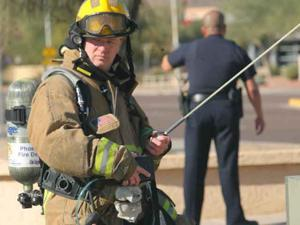 Update: Gas leak closes Chandler Boulevard
