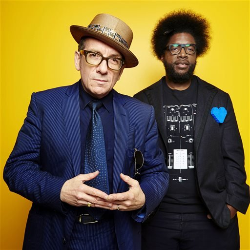 Elvis Costello and Ahmir