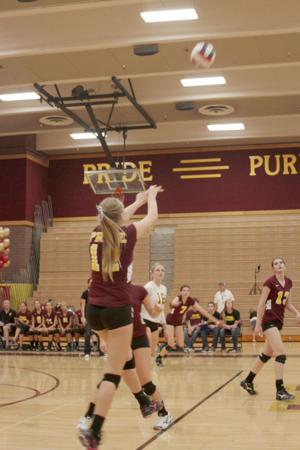 Mountain Pointe volleyball