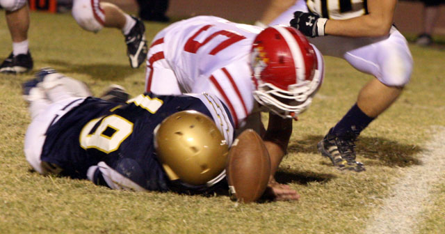 GameNight: Desert Vista jumps our early but falls, 47-24 to Brophy