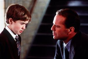 HALEY JOEL OSMENT  BRUCE WILLIS