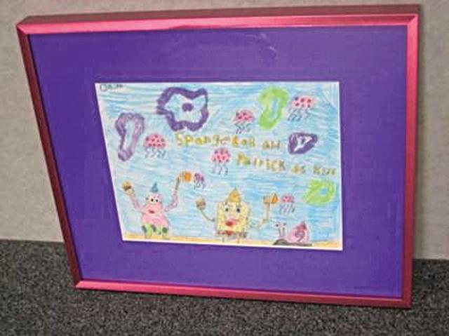 FASTFRAME Kid's Art Contest winners