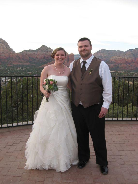 Megan O'Brien and Bobby Smock