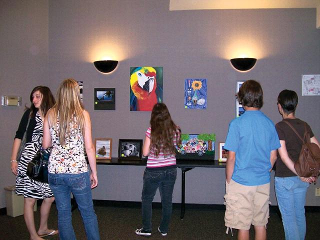 Teen art contest winners announced