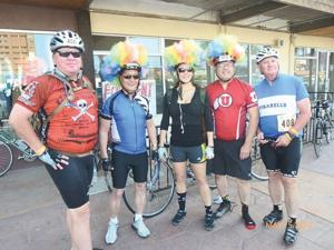 Local residents participate in 50 mile bicycle event