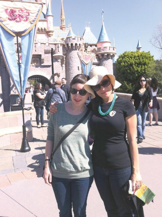 Adults in Disneyland