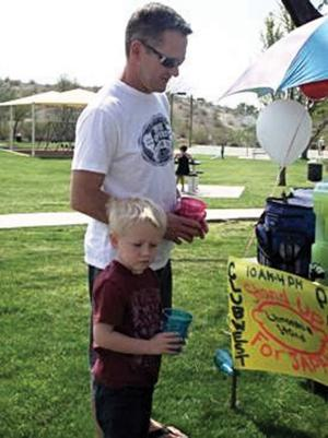 6th graders raise money for Red Cross with lemonade stand