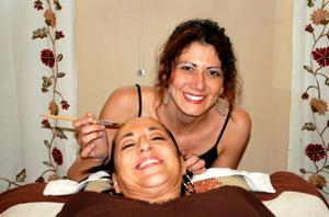 Darla Salem with Coralea Gosnell