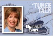 Tukee Talk Elizabeth Evans