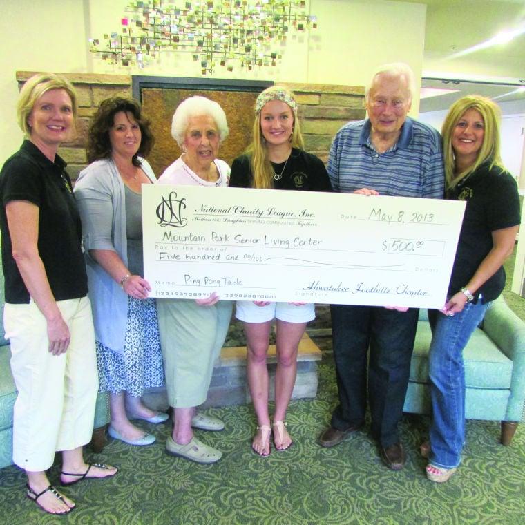 Mother/daughter league (NCL) raises $500 for Mountain Park Senio