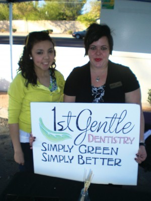 1st Gentle Dentistry at the Holistic Farmer's Market