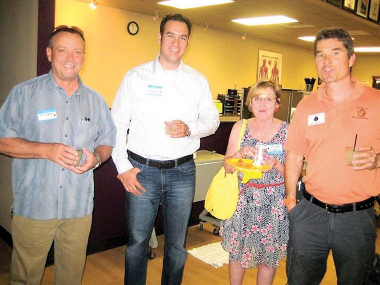 Chamber mixer at Spooner Physical Therapy