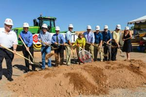 Ocotillo Health Club groundbreaking