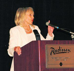 Brewer tells pastors she, staff rely on prayer