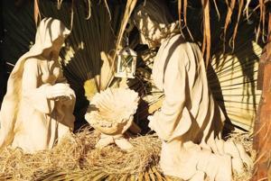 Stolen baby Jesus