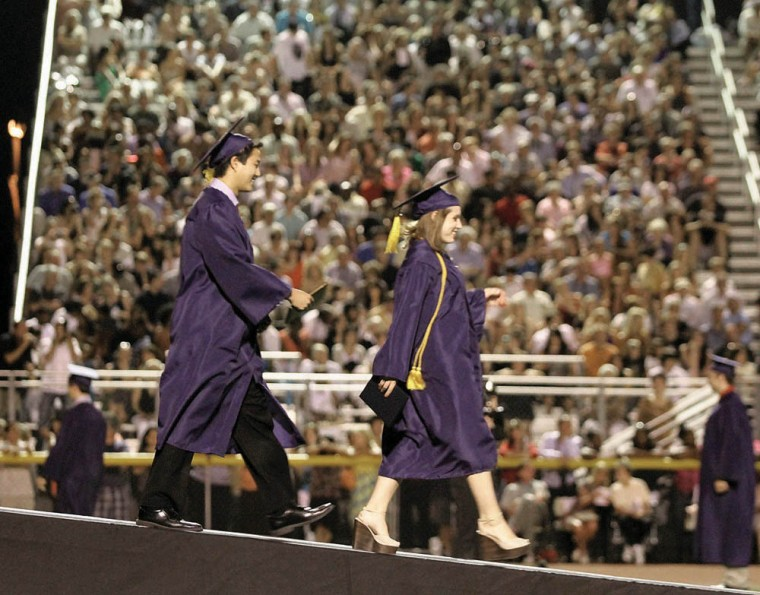 Desert Vista graduation 2011
